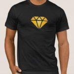 Μπλουζάκι  Λαιμόκοψη /Hustler legacy diamond