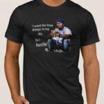 Μπλουζάκι  Λαιμόκοψη / 50 cent Hustle