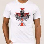 Μπλουζάκι  Λαιμόκοψη /KNIGHTS TEMPLAR A