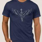 Μπλουζάκι  Λαιμόκοψη /ARCHANGEL MICHAEL 1