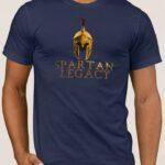 Μπλουζάκι  Λαιμόκοψη /SPARTAN LEGACY ( Μολων Λαβε )