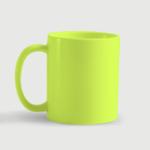 Κούπα από πορσελάνη neon ματ /με το δικό σας σχέδιο