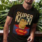 Μπλουζάκι Λαιμόκοψη /Superman - black