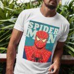 Μπλουζάκι Λαιμόκοψη /Spiderman- white