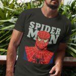 Μπλουζάκι Λαιμόκοψη /Spiderman- black